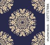 orient vector classic pattern....   Shutterstock .eps vector #1157727886