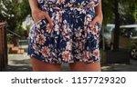 close up of stylish womans... | Shutterstock . vector #1157729320