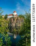 famous mountain church in... | Shutterstock . vector #1157733859