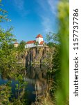 church in beucha  near leipzig  ... | Shutterstock . vector #1157737786