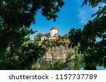 church in beucha  near leipzig  ... | Shutterstock . vector #1157737789