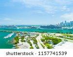 usa. florida. miami beach.... | Shutterstock . vector #1157741539