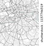 vector map of london in black... | Shutterstock .eps vector #1157746519