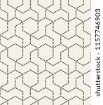 vector seamless pattern. modern ... | Shutterstock .eps vector #1157746903