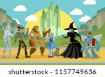 magical fantasy team | Shutterstock .eps vector #1157749636
