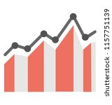 a chart with the milestones in ...   Shutterstock .eps vector #1157751139
