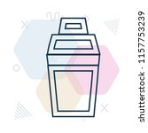 shaker icon vector can be used... | Shutterstock .eps vector #1157753239