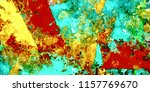 abstract psychedelic background ... | Shutterstock . vector #1157769670