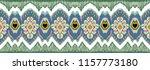 ikat geometric folklore... | Shutterstock .eps vector #1157773180