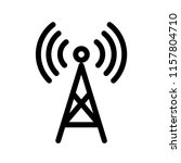 tower related signal icon   Shutterstock .eps vector #1157804710