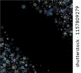 falling snow confetti ... | Shutterstock .eps vector #1157809279