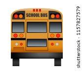 Back Of School Bus Mockup....