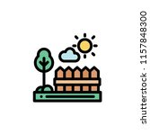 nature landscape flat icon | Shutterstock .eps vector #1157848300