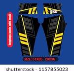 leggings pants fashion vector... | Shutterstock .eps vector #1157855023