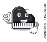 thumbs up piano character... | Shutterstock .eps vector #1157856730