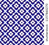 ceramic thai pattern   abstract ... | Shutterstock .eps vector #1157860270