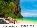 krabi  thailand   july 20 ... | Shutterstock . vector #1157861893