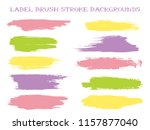 futuristic label brush stroke... | Shutterstock .eps vector #1157877040