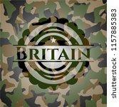 britain on camo texture | Shutterstock .eps vector #1157885383