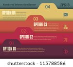 vector background number... | Shutterstock .eps vector #115788586