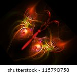 Abstract Fractal Butterfly...