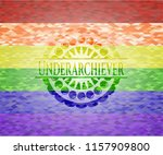 underarchiever lgbt colors... | Shutterstock .eps vector #1157909800