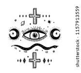 sketch graphic illustration... | Shutterstock .eps vector #1157913559