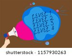 conceptual hand writing showing ... | Shutterstock . vector #1157930263