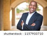 mature african american... | Shutterstock . vector #1157933710