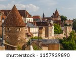 medieval fortifications of... | Shutterstock . vector #1157939890