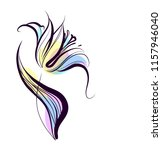 drawing vector graphics with... | Shutterstock .eps vector #1157946040
