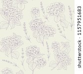 fabric pattern. seamless floral ... | Shutterstock .eps vector #1157951683