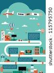 factory cityscape info graphics ... | Shutterstock .eps vector #115795750
