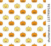 jack o lantern elements...   Shutterstock .eps vector #1157959156