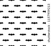 seamless pattern with bats.... | Shutterstock .eps vector #1157959213