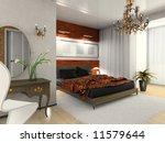 modern bedroom   Shutterstock . vector #11579644
