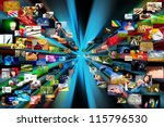 photography internet gallery.... | Shutterstock . vector #115796530