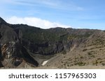 Active Volcanic Crater