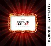 retro light sign. vintage style ...   Shutterstock .eps vector #1157969563