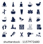 beauty and health glyph icon... | Shutterstock .eps vector #1157972680