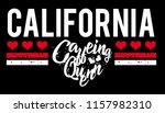slogan california coffeing...   Shutterstock .eps vector #1157982310