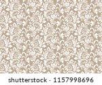 floral pattern. vintage... | Shutterstock . vector #1157998696