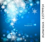 abstract christmas background... | Shutterstock .eps vector #115799914