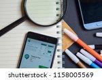 bekasi  west java  indonesia.... | Shutterstock . vector #1158005569