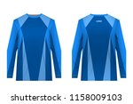 templates of sportswear designs ...   Shutterstock .eps vector #1158009103