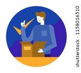 product guarantee.customer... | Shutterstock .eps vector #1158016510
