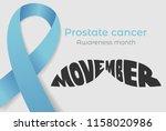 august 17  2018   movember  ... | Shutterstock .eps vector #1158020986
