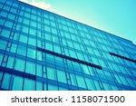 modern office building on a...   Shutterstock . vector #1158071500