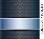 abstract business blue metal... | Shutterstock . vector #115809364