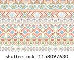 sacral tribal ethnic motifs...   Shutterstock .eps vector #1158097630